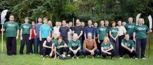 Bild: Gruppenfoto Internationales Chen Taijiquan Herbstcamp – in Ravensburg 2013